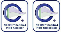You Can Trust Our NORMI Certified Mold Services